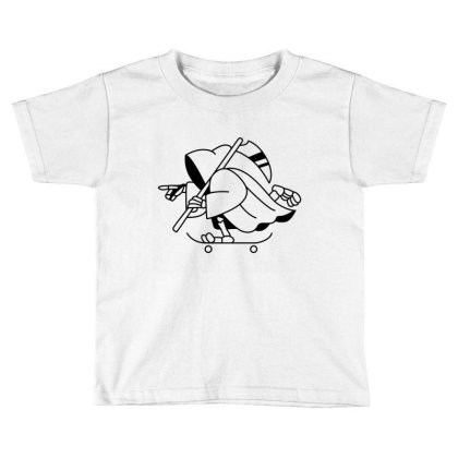 Grim Toddler T-shirt Designed By Fahmifutri