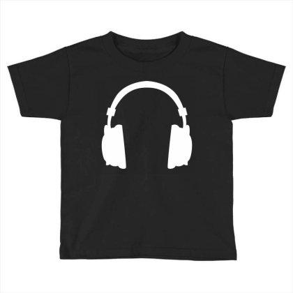 Headphone Toddler T-shirt Designed By Fahmifutri