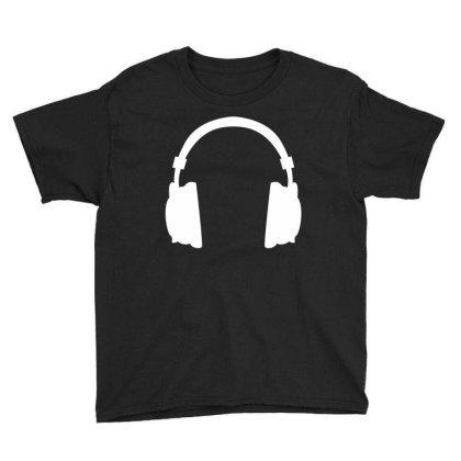Headphone Youth Tee Designed By Fahmifutri