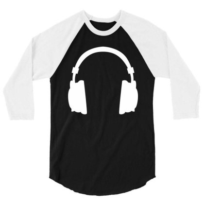 Headphone 3/4 Sleeve Shirt Designed By Fahmifutri