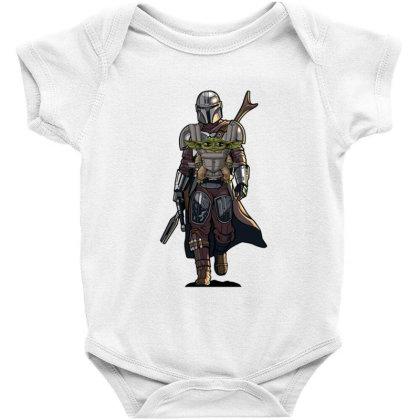 Baby Yoda Mandalorian Baby Bodysuit