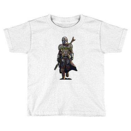 Baby Yoda Mandalorian Toddler T-shirt Designed By Coşkun