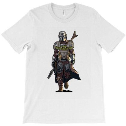 Baby Yoda Mandalorian T-shirt Designed By Coşkun