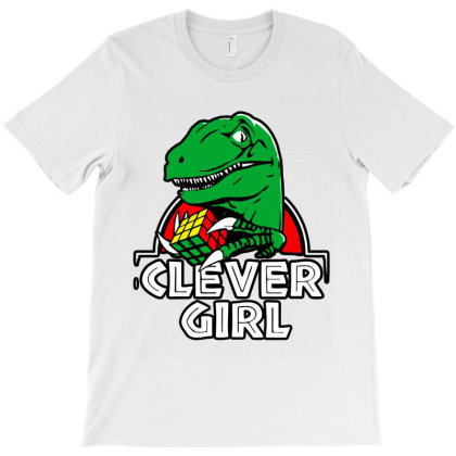 Funny Clever Girl T-shirt Designed By Top Seller