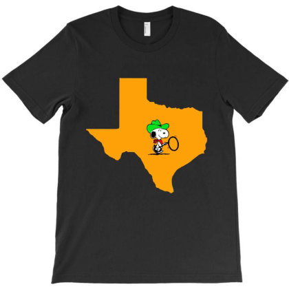 Funny Cowboy Loves Texas Cartoon T-shirt Designed By Top Seller
