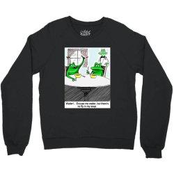 funny frog and toad Crewneck Sweatshirt | Artistshot