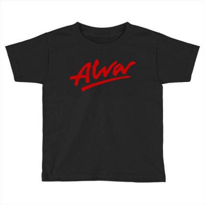 Alva Logo Toddler T-shirt Designed By Best Seller