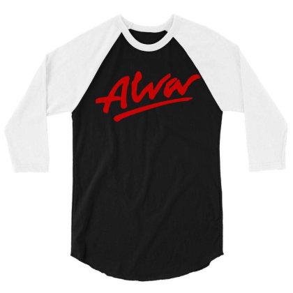 Alva Logo 3/4 Sleeve Shirt Designed By Best Seller