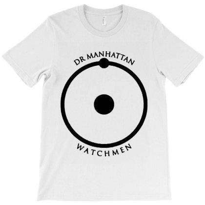 Dr Manhattan Watchmen T-shirt Designed By Raymod Art