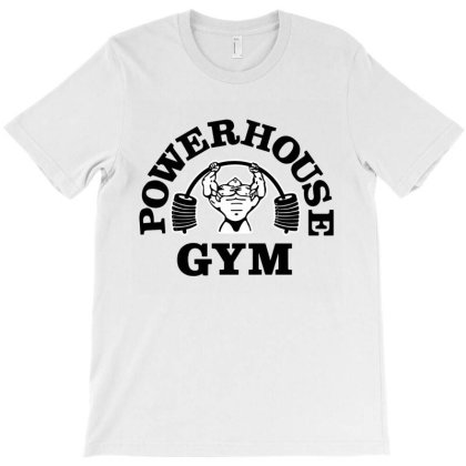 Funny Powerhouse Gym T-shirt Designed By Top Seller