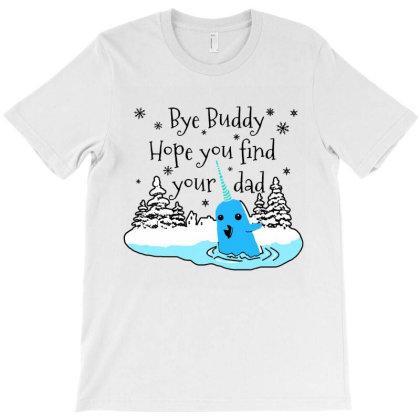 Funny Unicorn Fish Bye Buddy T-shirt Designed By Raymod Art