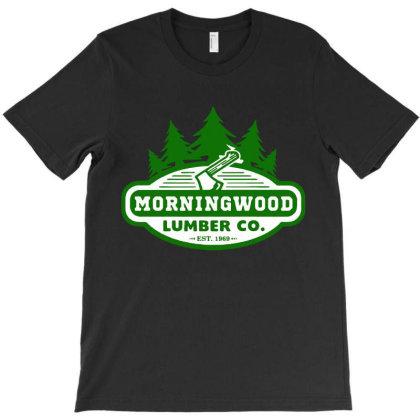 Saying Morning Wood Lumber T-shirt Designed By Best Seller