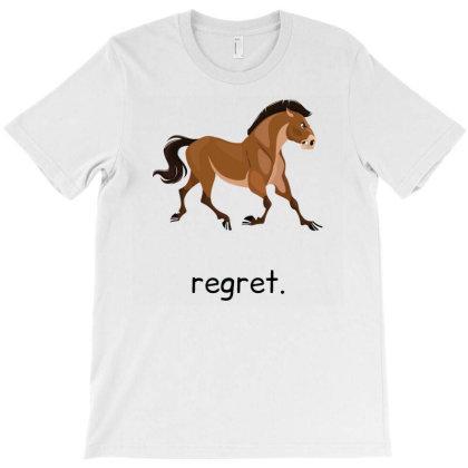 Regret T-shirt Designed By Oceaneyes