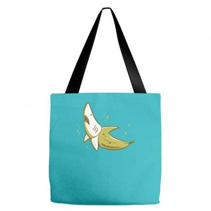 Banana Shark Tote Bags Designed By Mdk Art