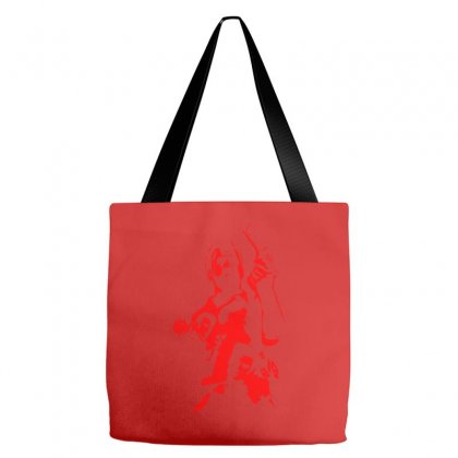 Red Max Payne Tote Bags Designed By Specstore