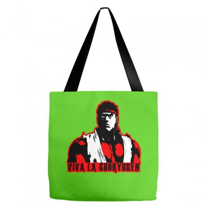 Viva A Shoryuken Tote Bags Designed By Specstore