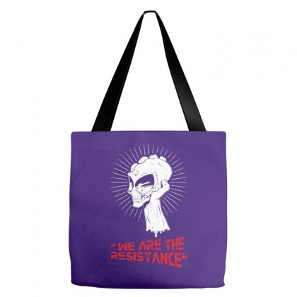 We Are The Resistance Tote Bags Designed By Specstore