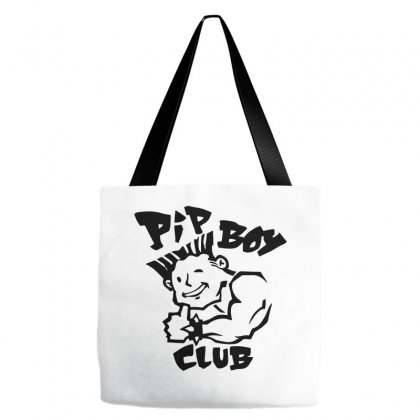 Bad Pip Boy Club Tote Bags Designed By Specstore
