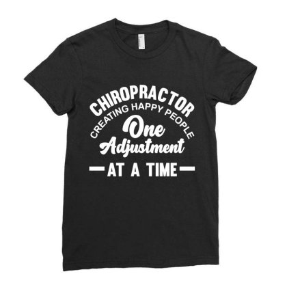 Chiropractor Treatment Pride Profession Ladies Fitted T-shirt Designed By L4l4pow