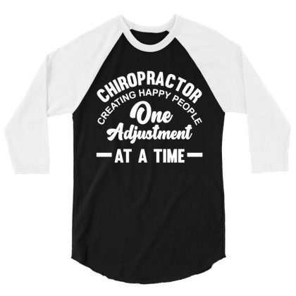 Chiropractor Treatment Pride Profession 3/4 Sleeve Shirt Designed By L4l4pow