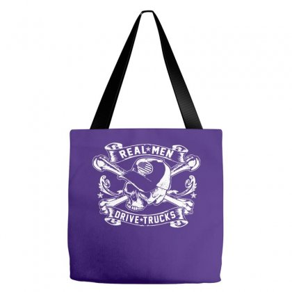Real Men Are Truckers Tote Bags Designed By Specstore