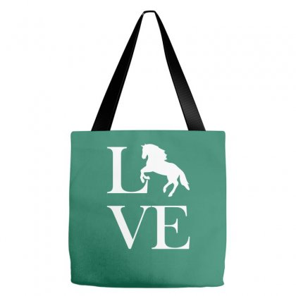 Horse Love Tote Bags Designed By Mdk Art