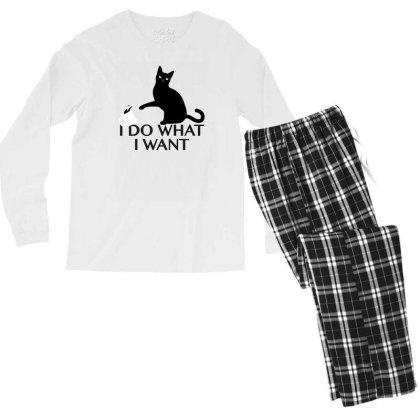 I Do What I Want Men's Long Sleeve Pajama Set Designed By Prakoso77
