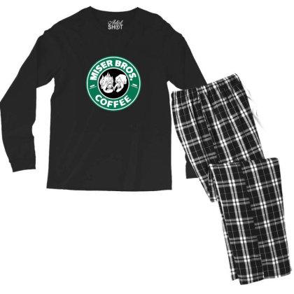 Miser Brothers Coffee Men's Long Sleeve Pajama Set Designed By Blackstone