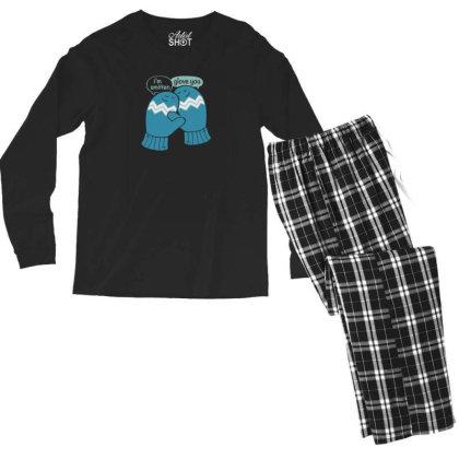I'm Smitten Men's Long Sleeve Pajama Set Designed By Prakoso77