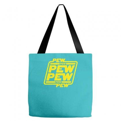 Pew Pew Pew Tote Bags Designed By Mdk Art