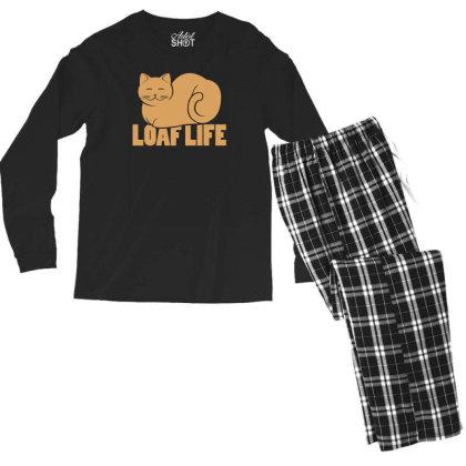 Loaf Life Men's Long Sleeve Pajama Set Designed By Prakoso77