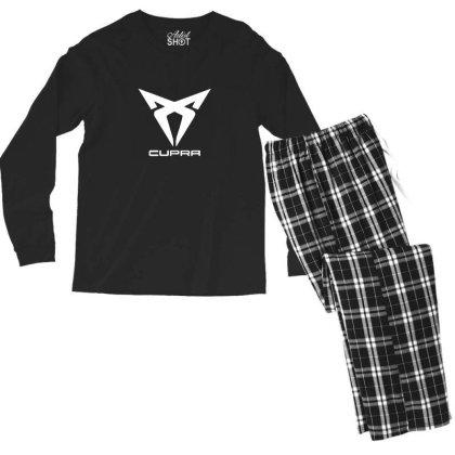 Cupra Sport Car Logo Men's Long Sleeve Pajama Set Designed By Ratna Tier