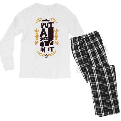 Put A Shock In It Men's Long Sleeve Pajama Set Designed By Kahvel