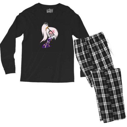 Charlie Hazbin Hotel Men's Long Sleeve Pajama Set Designed By Yunis Putriasa