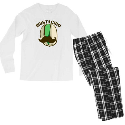 Mustachio Men's Long Sleeve Pajama Set Designed By Prakoso77