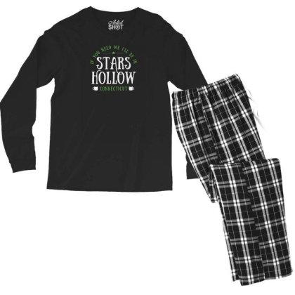 Stars Hollow Men's Long Sleeve Pajama Set Designed By Prakoso77