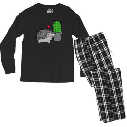 Prickly Love Men's Long Sleeve Pajama Set Designed By Prakoso77