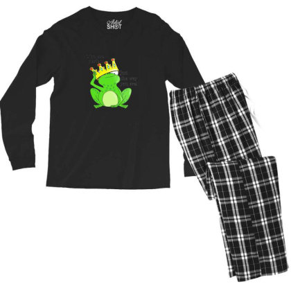 Adorable Frog And Toad Men's Long Sleeve Pajama Set Designed By Ratna Tier