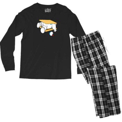 Stay S'more Men's Long Sleeve Pajama Set Designed By Prakoso77