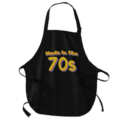 Made In The 70s Medium-length Apron Designed By Akin