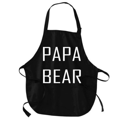 Papa Bear Medium-length Apron Designed By Suryanaagus