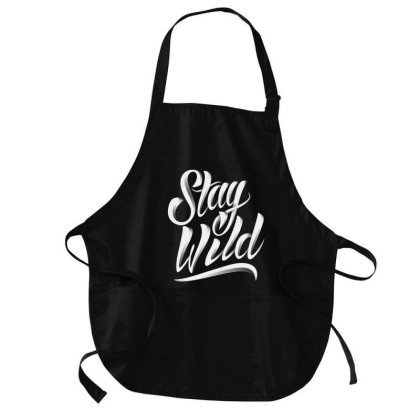 Stay Wild Medium-length Apron Designed By Chiks