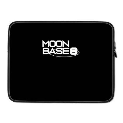 Moonbase 8 Laptop Sleeve Designed By Blackstone