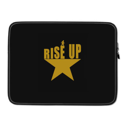 Rise Up Hamilton Star Laptop Sleeve Designed By Blackstone