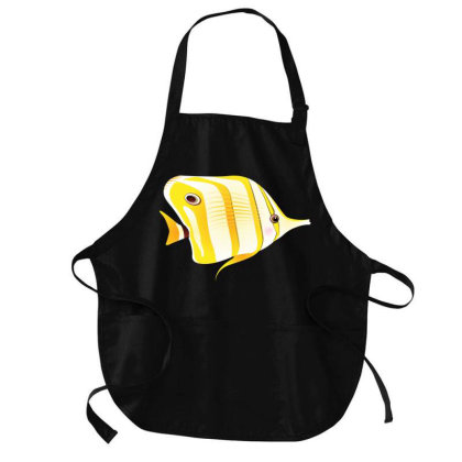 Butterfly Fish Medium-length Apron Designed By Chiks