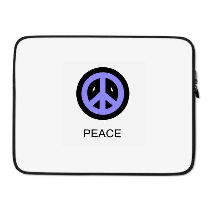 Peace Laptop Sleeve Designed By Suryanaagus