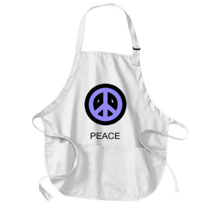 Peace Medium-length Apron Designed By Suryanaagus