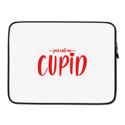 Just Call Me Cupid Laptop Sleeve Designed By Jetstar99