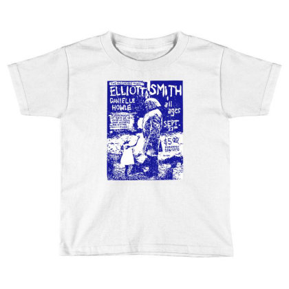 Elliott Smith Live Tour Toddler T-shirt Designed By Domino Tees