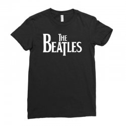 the beatles lennon mccartney starr georg musica Ladies Fitted T-Shirt | Artistshot